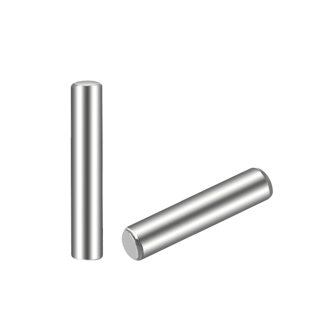 25Pcs 2.5mm x 14mm Dowel Pin 304 Stainless Steel Shelf Support Pin Fasten