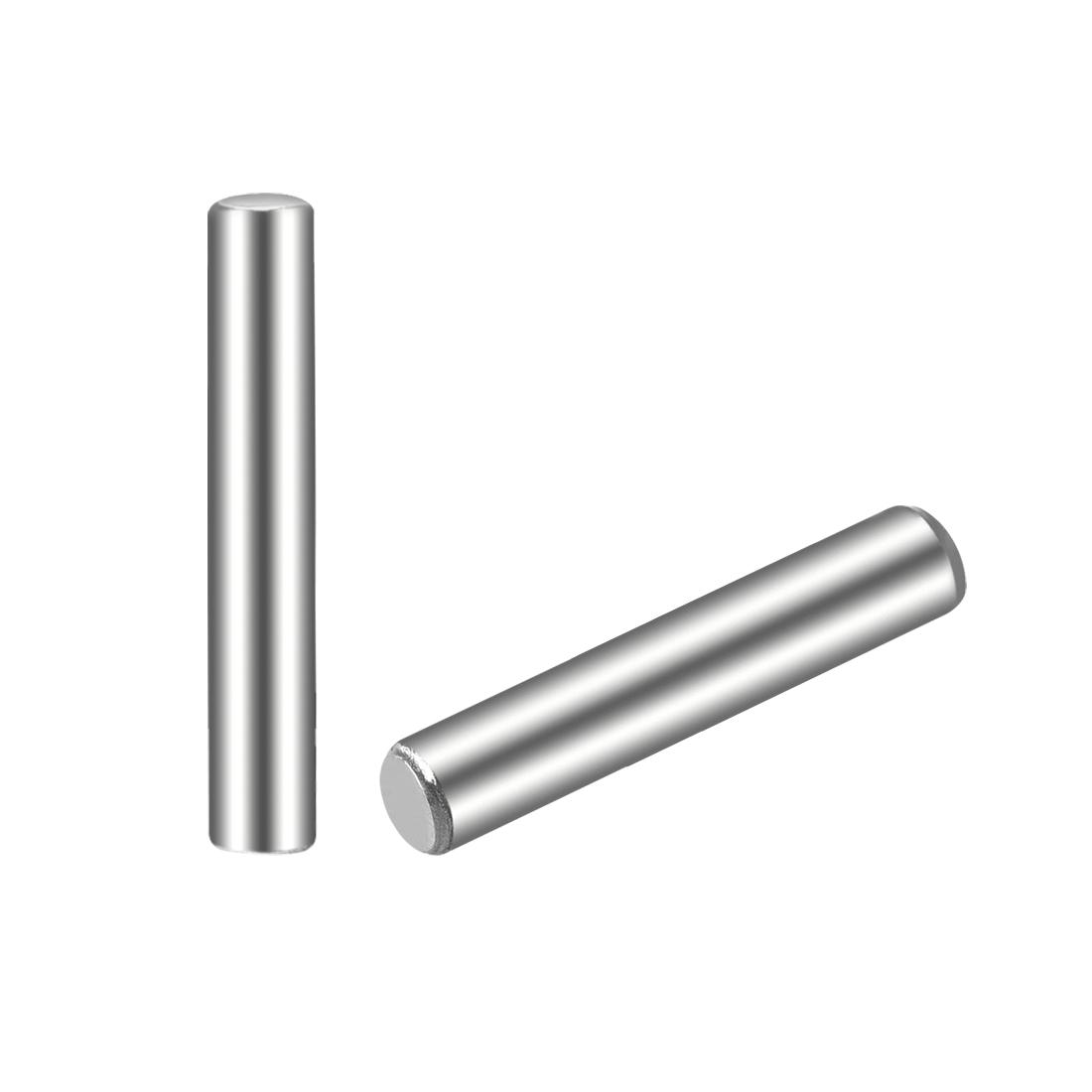 100Pcs 2.5mm x 16mm Dowel Pin 304 Stainless Steel Shelf Support Pin Fasten