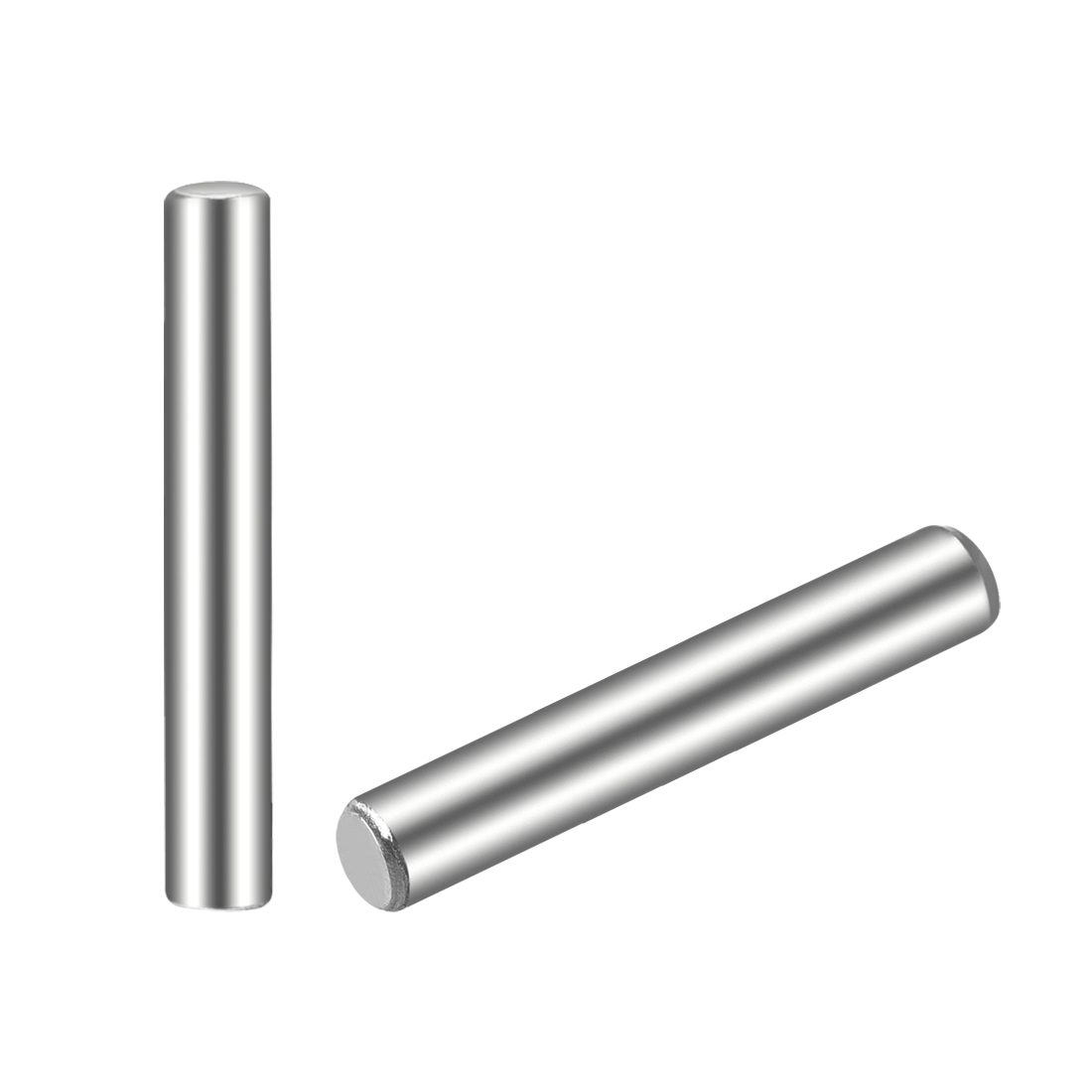 50Pcs 2.5mm x 18mm Dowel Pin 304 Stainless Steel Shelf Support Pin Fasten