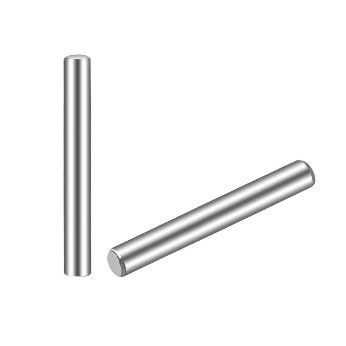25Pcs 2.5mm x 20mm Dowel Pin 304 Stainless Steel Shelf Support Pin Fasten