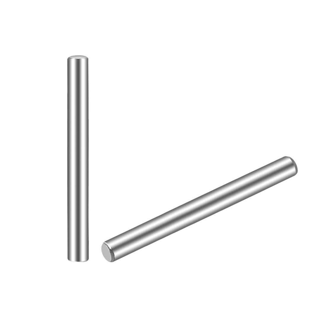30Pcs 2.5mm x 25mm Dowel Pin 304 Stainless Steel Shelf Support Pin Fasten