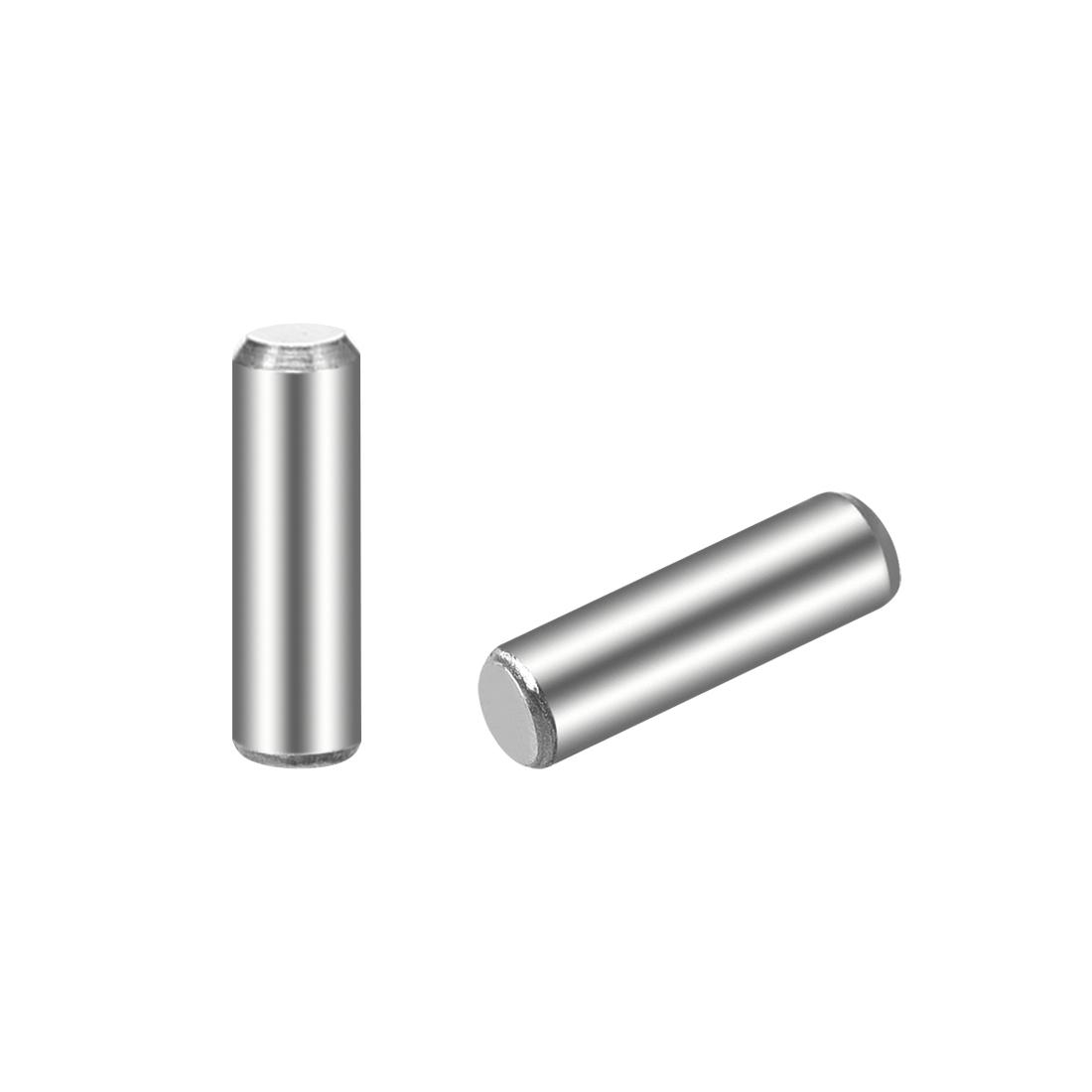 100Pcs 3mm x 10mm Dowel Pin 304 Stainless Steel Shelf Support Pin Fasten