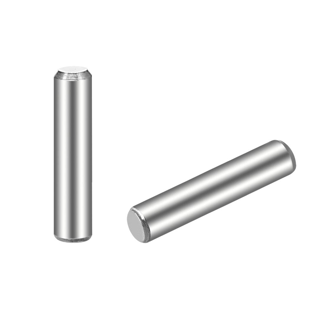 25Pcs 3mm x 14mm Dowel Pin 304 Stainless Steel Shelf Support Pin Fasten
