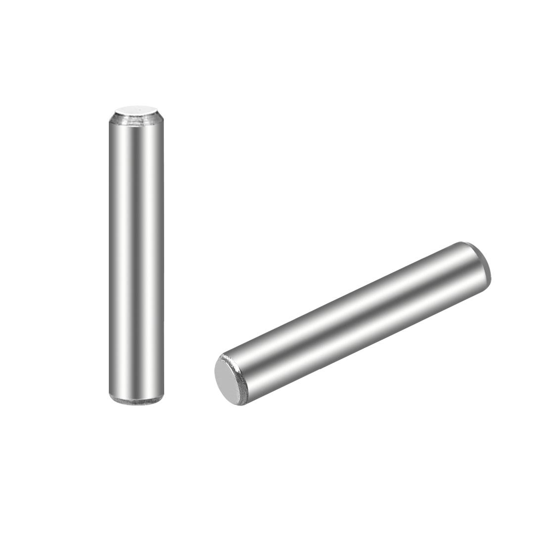 100Pcs 3mm x 16mm Dowel Pin 304 Stainless Steel Shelf Support Pin Fasten