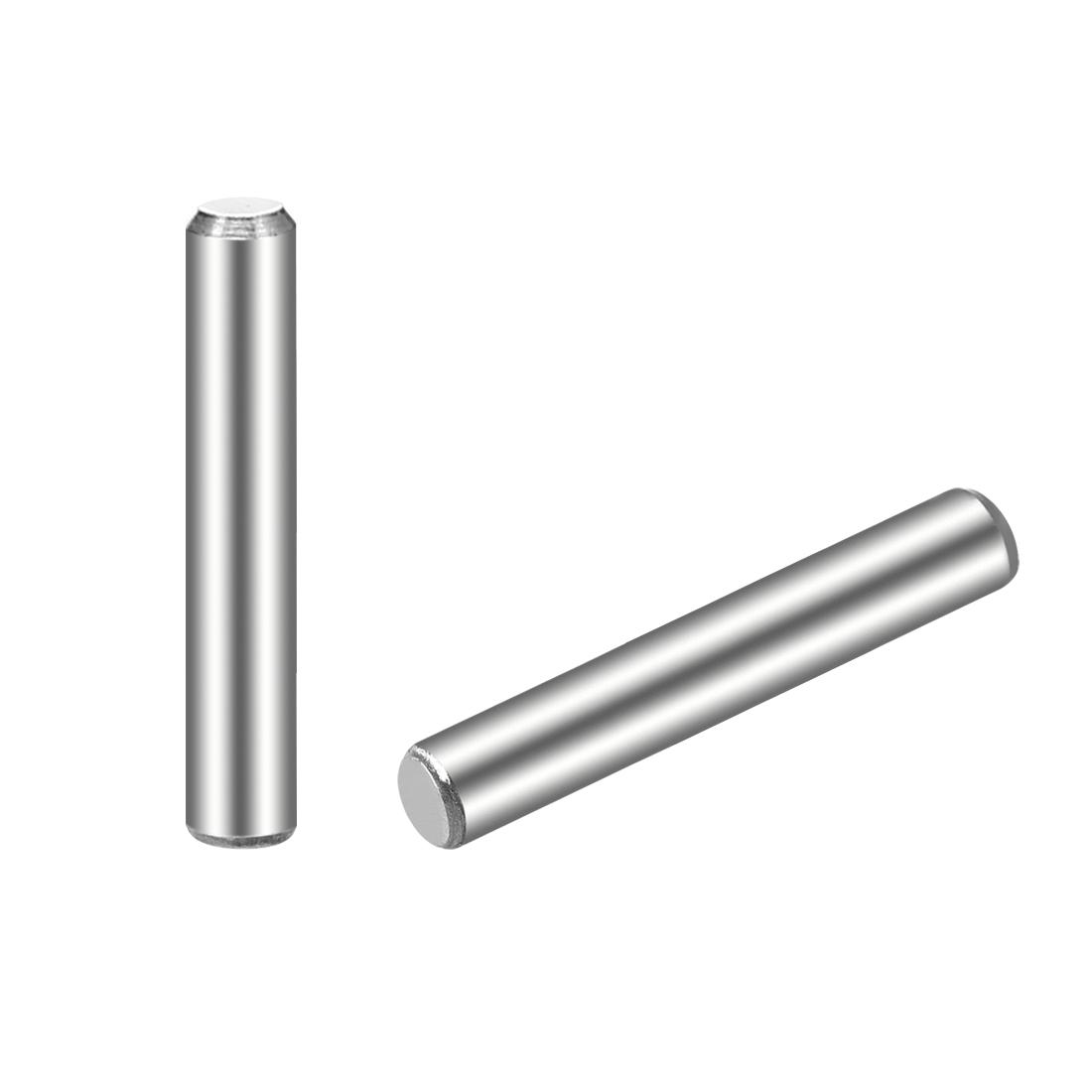 25Pcs 3mm x 18mm Dowel Pin 304 Stainless Steel Shelf Support Pin Fasten