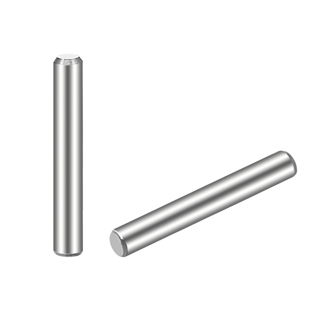 25Pcs 3mm x 20mm Dowel Pin 304 Stainless Steel Shelf Support Pin Fasten