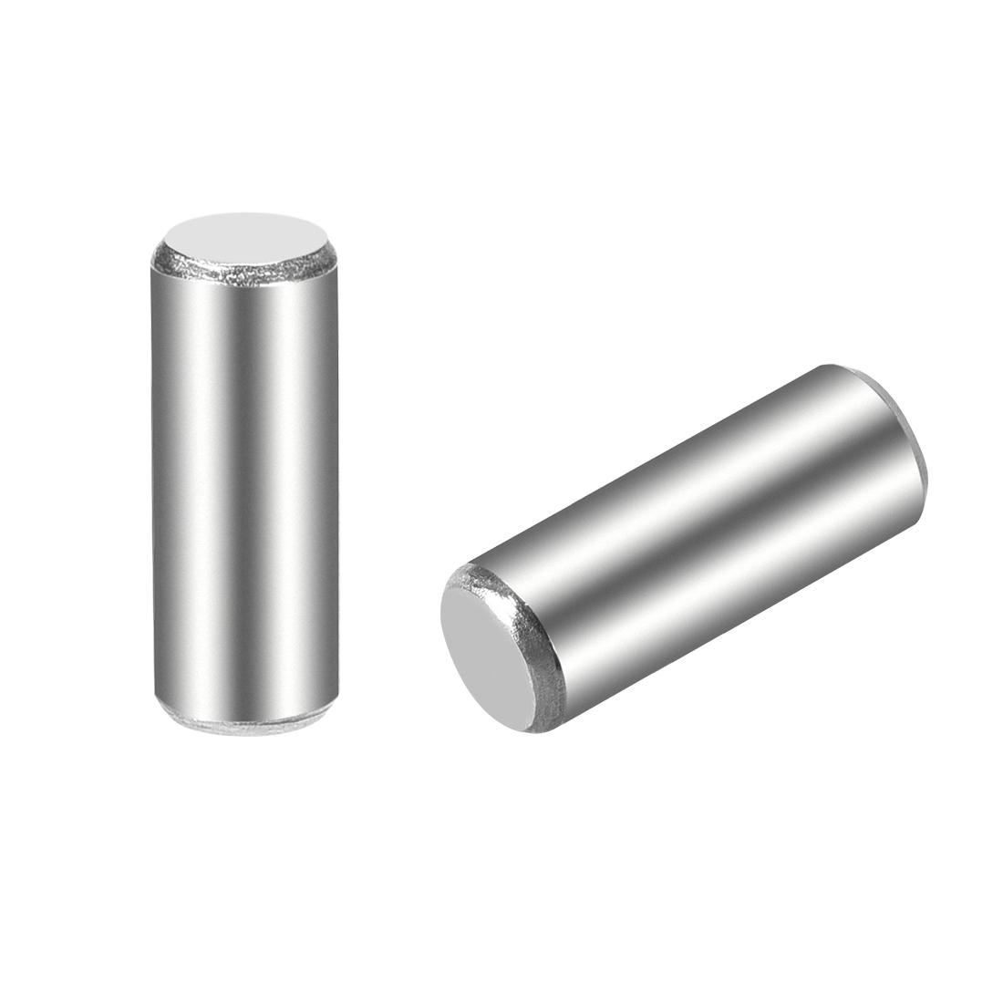 25Pcs 5mm x 14mm Dowel Pin 304 Stainless Steel Shelf Support Pin Fasten