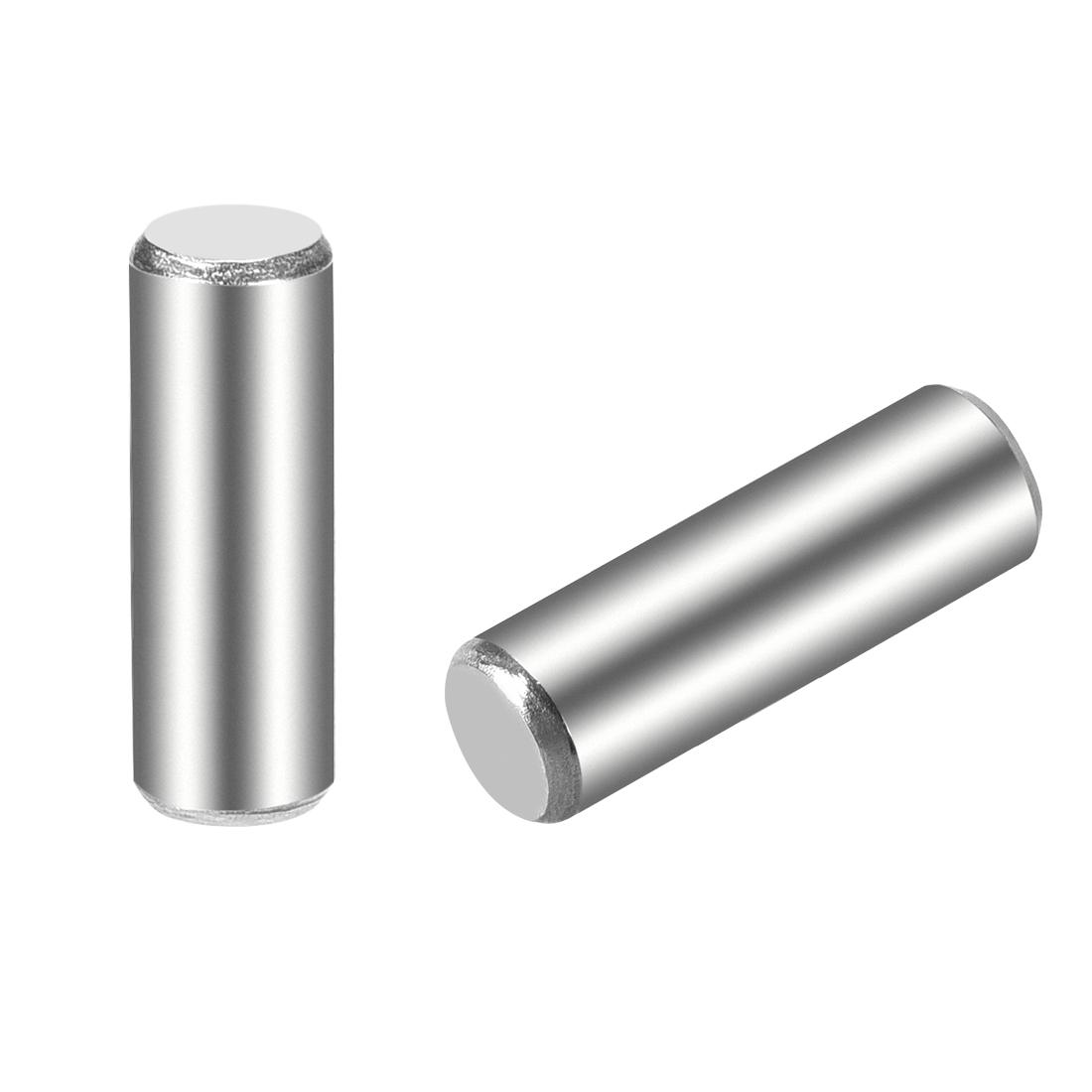 15Pcs 5mm x 16mm Dowel Pin 304 Stainless Steel Shelf Support Pin Fasten