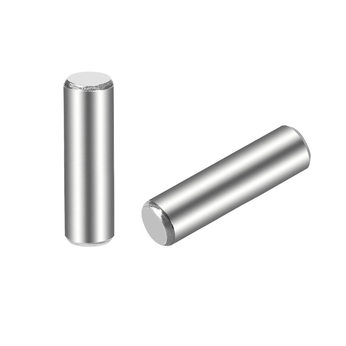 15Pcs 5mm x 18mm Dowel Pin 304 Stainless Steel Shelf Support Pin Fasten