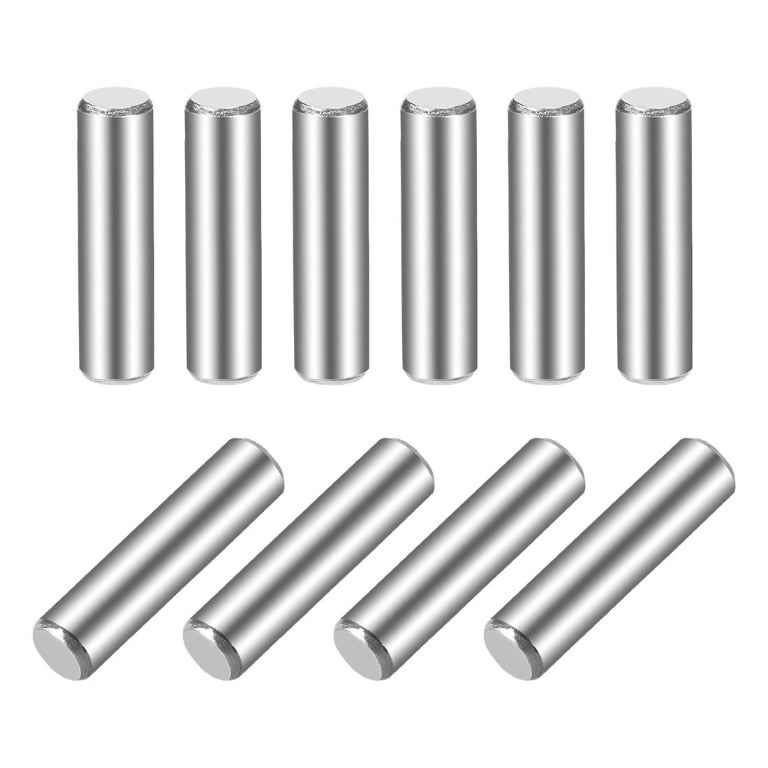 10Pcs 5mm x 20mm Dowel Pin 304 Stainless Steel Shelf Support Pin Fasten