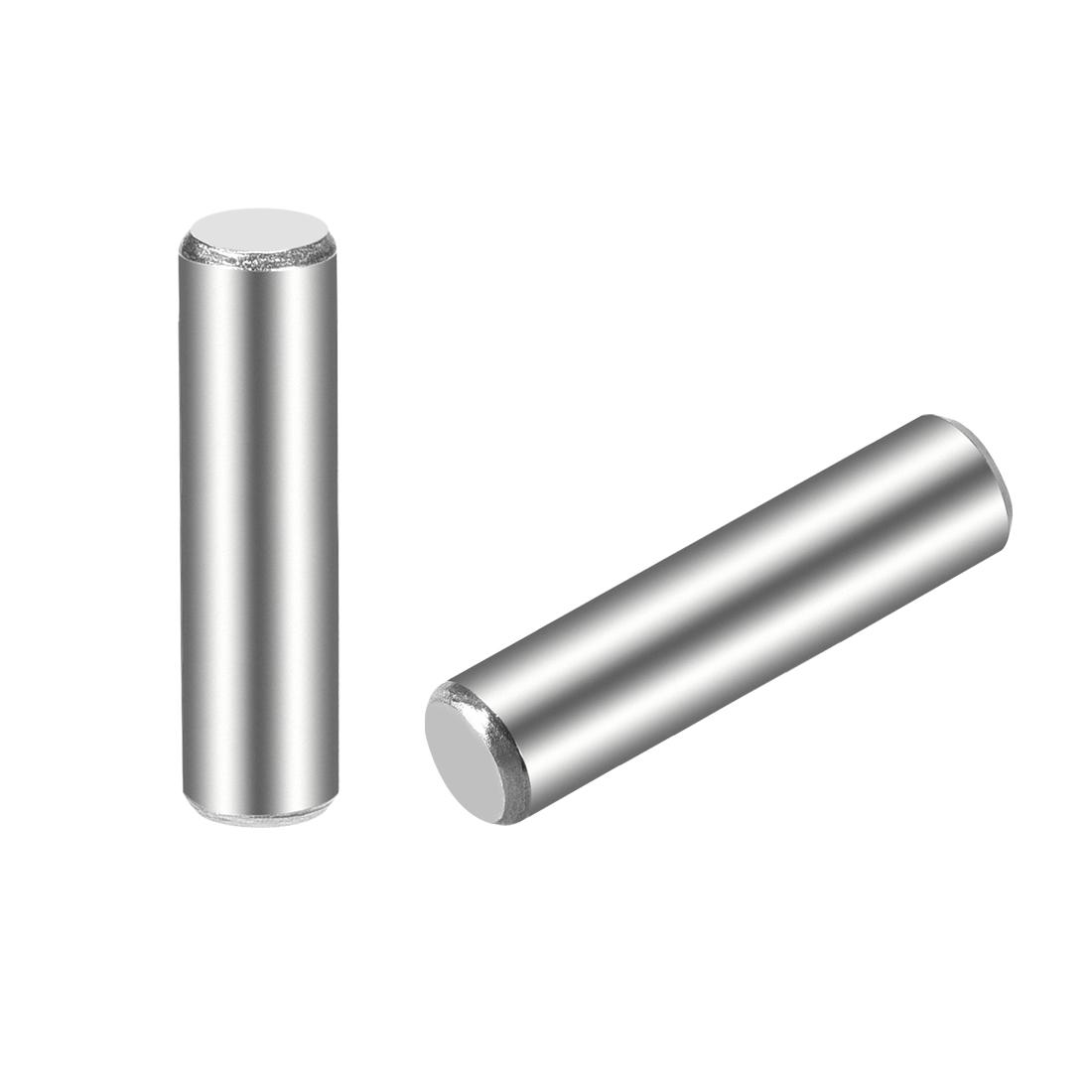 15Pcs 5mm x 20mm Dowel Pin 304 Stainless Steel Shelf Support Pin Fasten