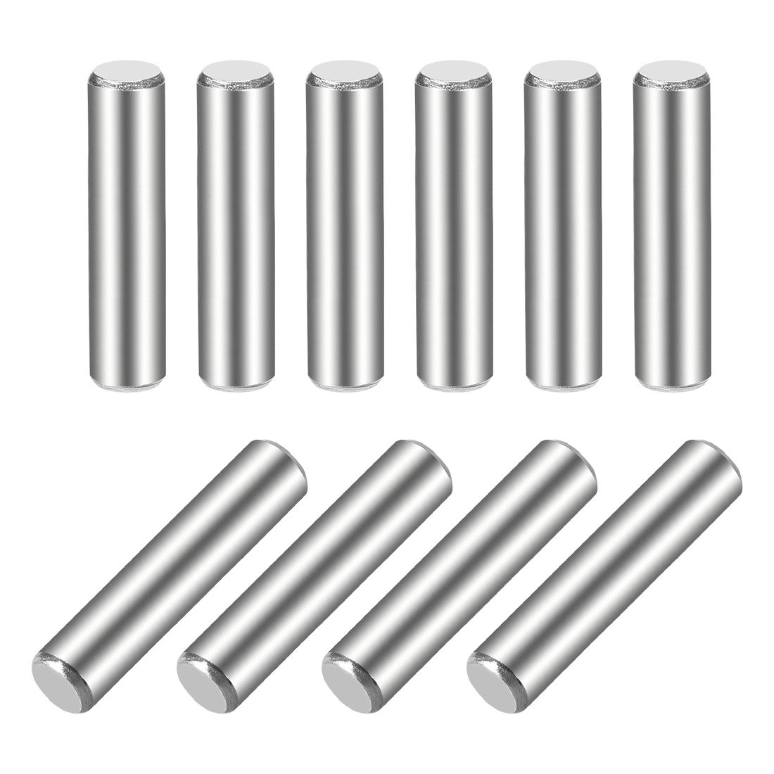 10Pcs 5mm x 25mm Dowel Pin 304 Stainless Steel Shelf Support Pin Fasten