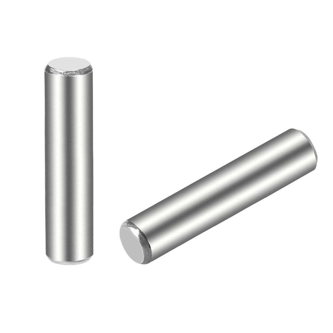 15Pcs 5mm x 25mm Dowel Pin 304 Stainless Steel Shelf Support Pin Fasten