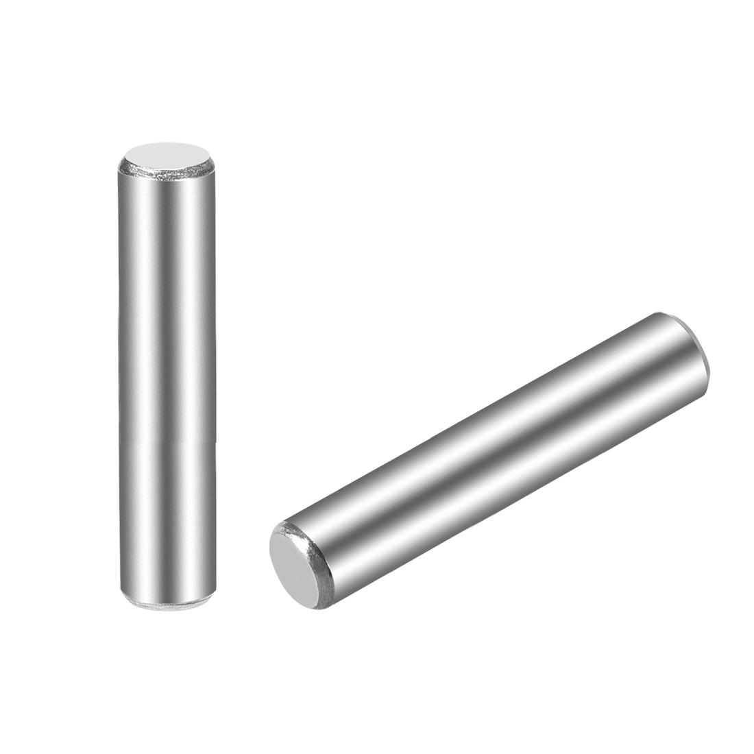 25Pcs 5mm x 30mm Dowel Pin 304 Stainless Steel Shelf Support Pin Fasten