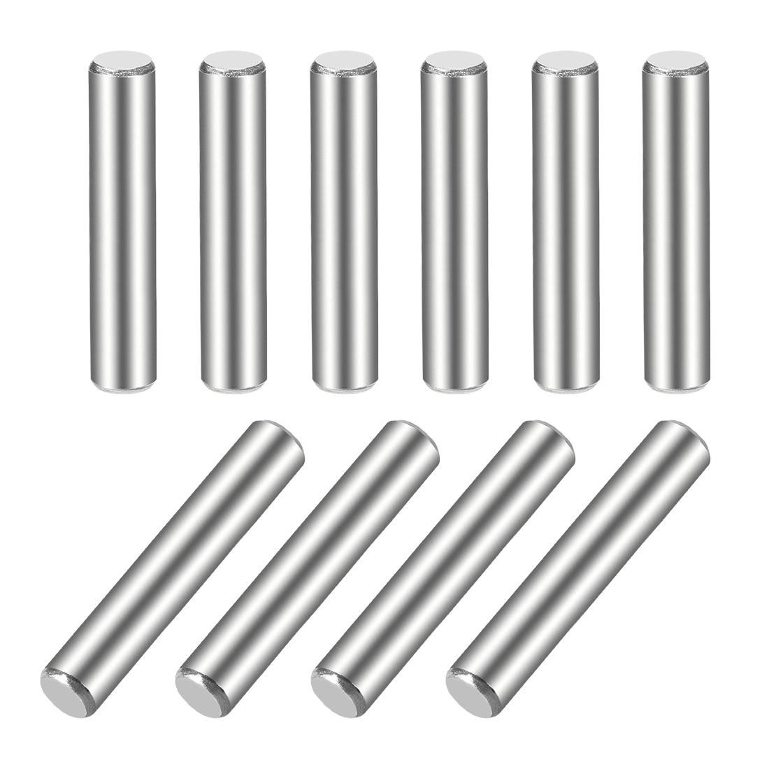 10Pcs 5mm x 35mm Dowel Pin 304 Stainless Steel Shelf Support Pin Fasten