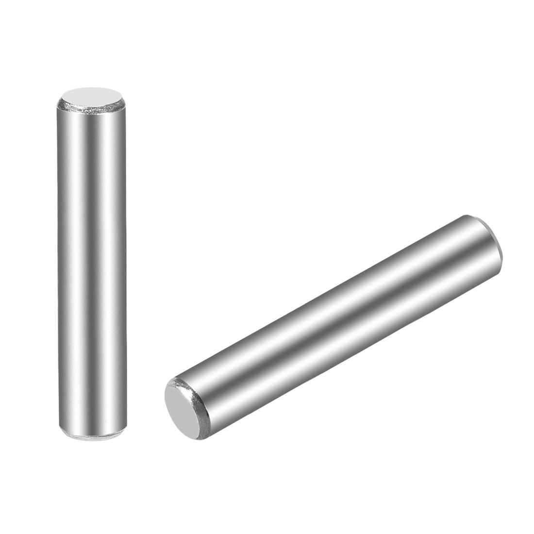 15Pcs 5mm x 35mm Dowel Pin 304 Stainless Steel Shelf Support Pin Fasten