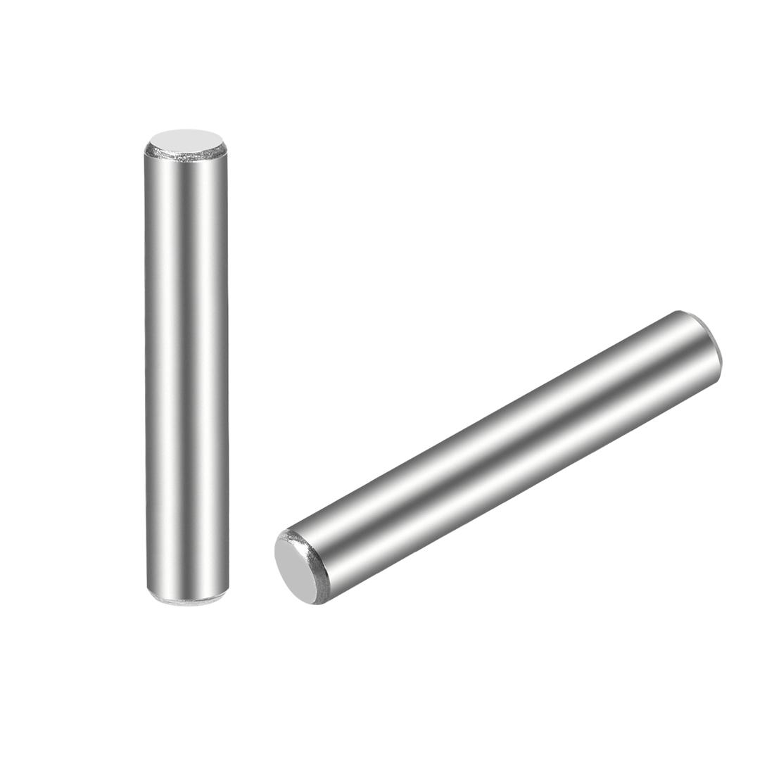 15Pcs 5mm x 40mm Dowel Pin 304 Stainless Steel Shelf Support Pin Fasten