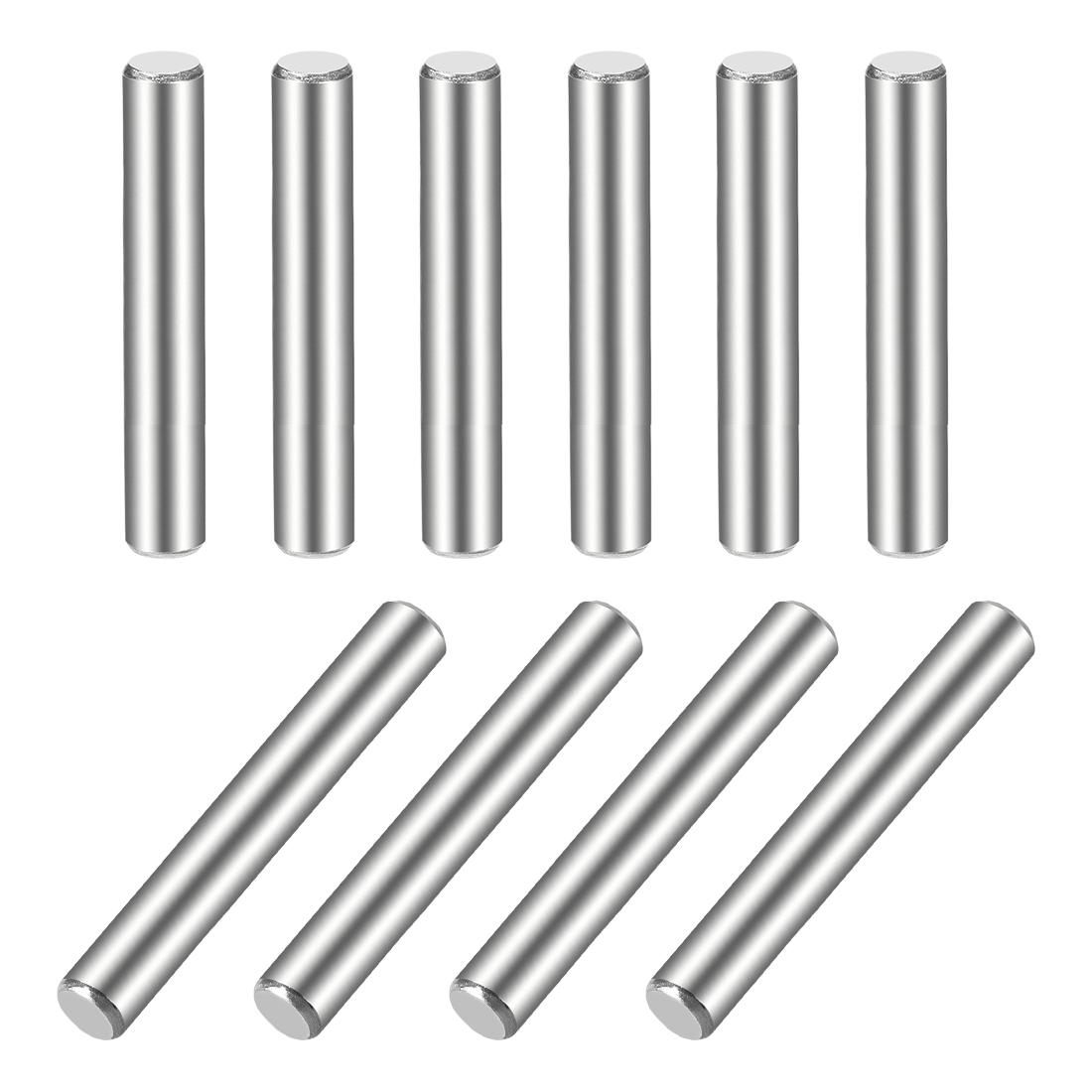 10Pcs 5mm x 45mm Dowel Pin 304 Stainless Steel Shelf Support Pin Fasten