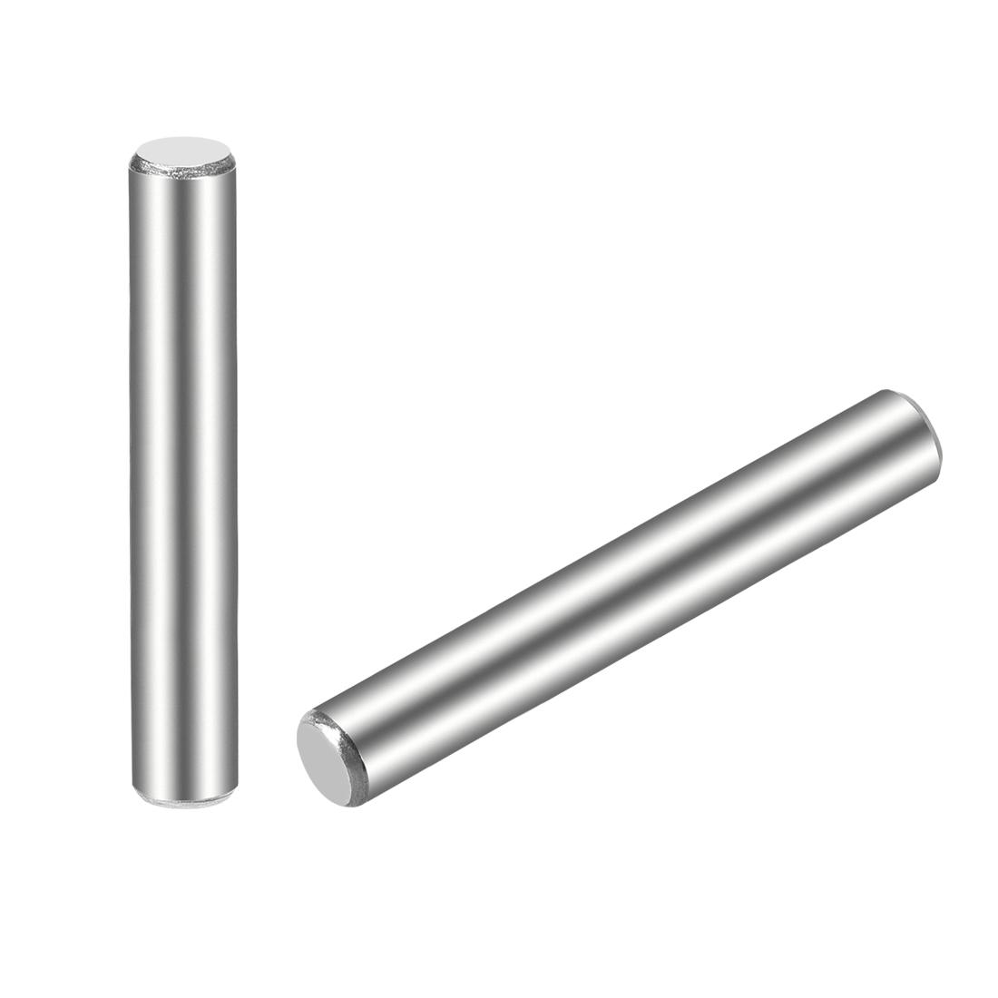 25Pcs 5mm x 45mm Dowel Pin 304 Stainless Steel Shelf Support Pin Fasten