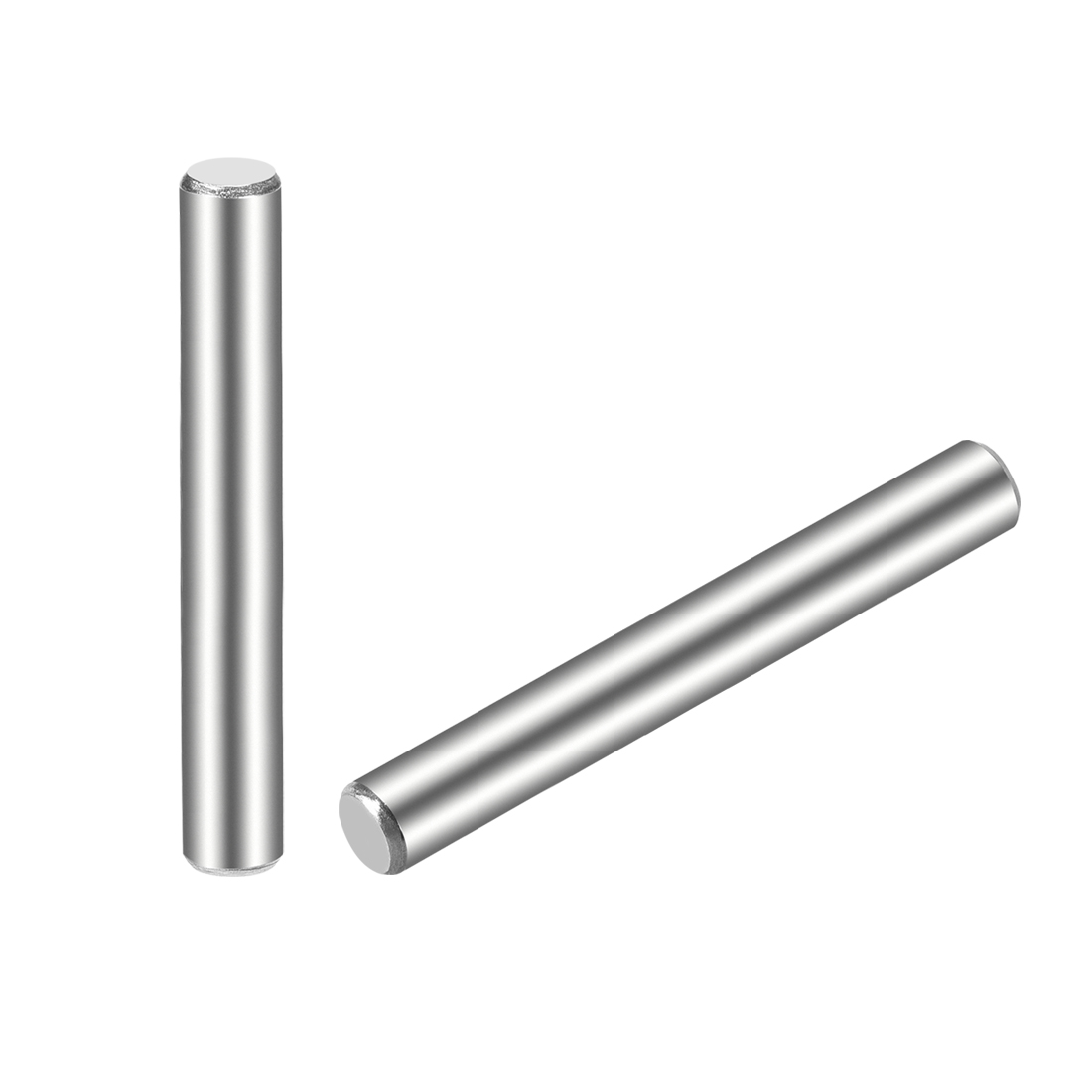 25Pcs 5mm x 50mm Dowel Pin 304 Stainless Steel Shelf Support Pin Fasten
