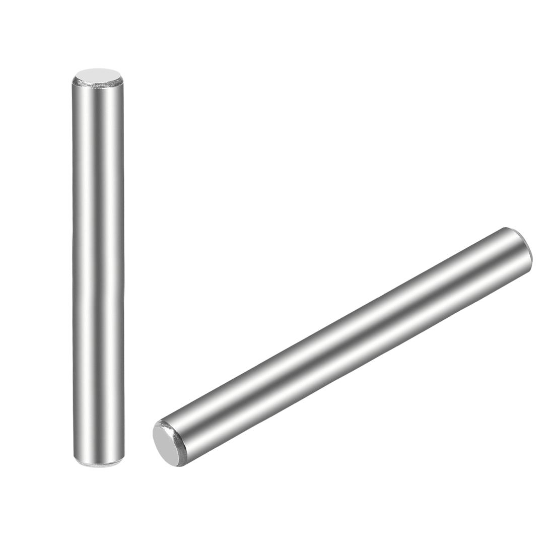 15Pcs 5mm x 60mm Dowel Pin 304 Stainless Steel Shelf Support Pin Fasten