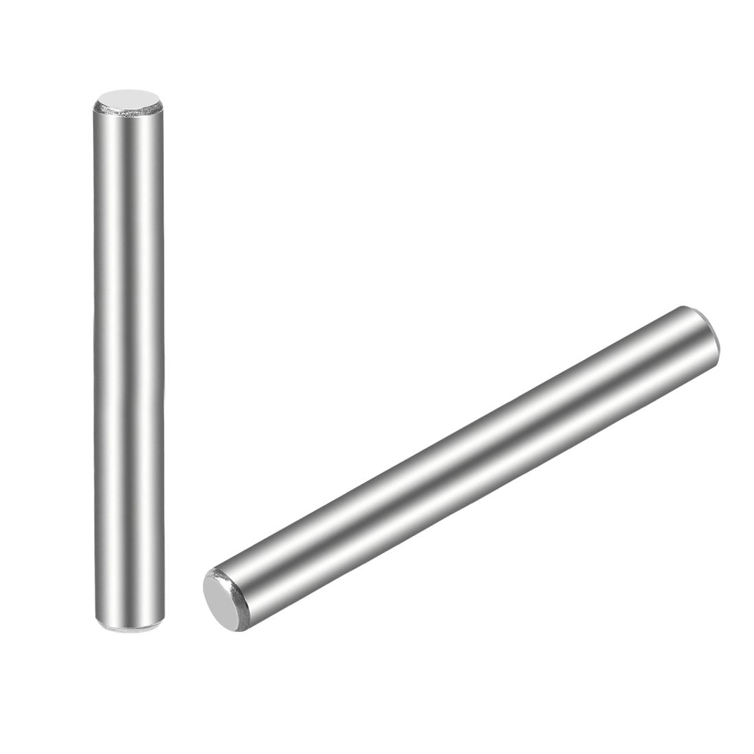 15Pcs 5mm x 70mm Dowel Pin 304 Stainless Steel Shelf Support Pin Fasten
