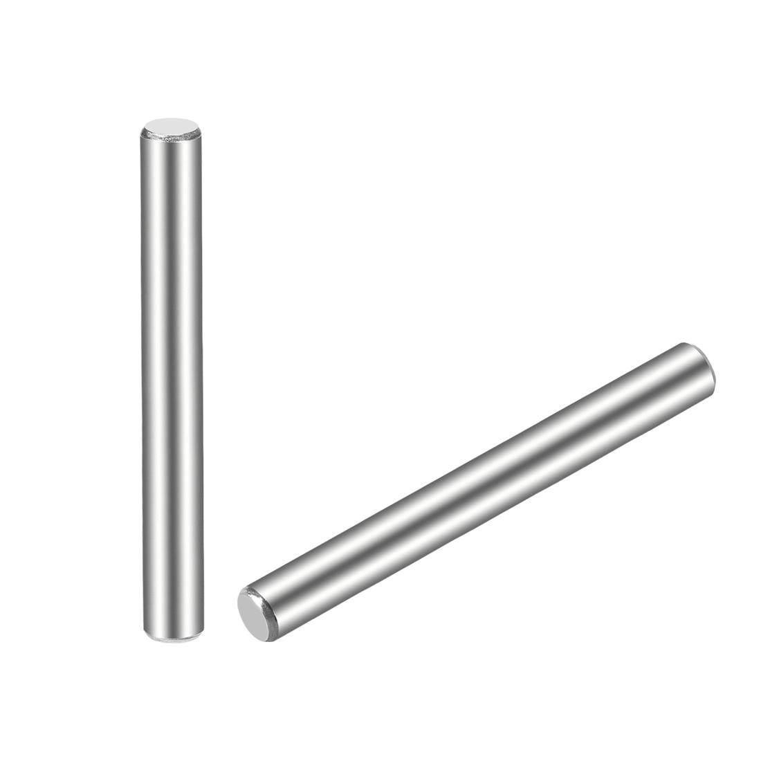 15Pcs 5mm x 80mm Dowel Pin 304 Stainless Steel Shelf Support Pin Fasten