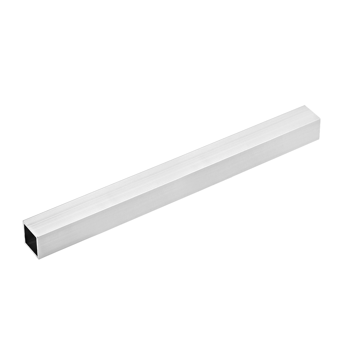 6063 Aluminum Square Tube 25mmx25mmx0.8mm Wall Thickness 300mm Length Tubing