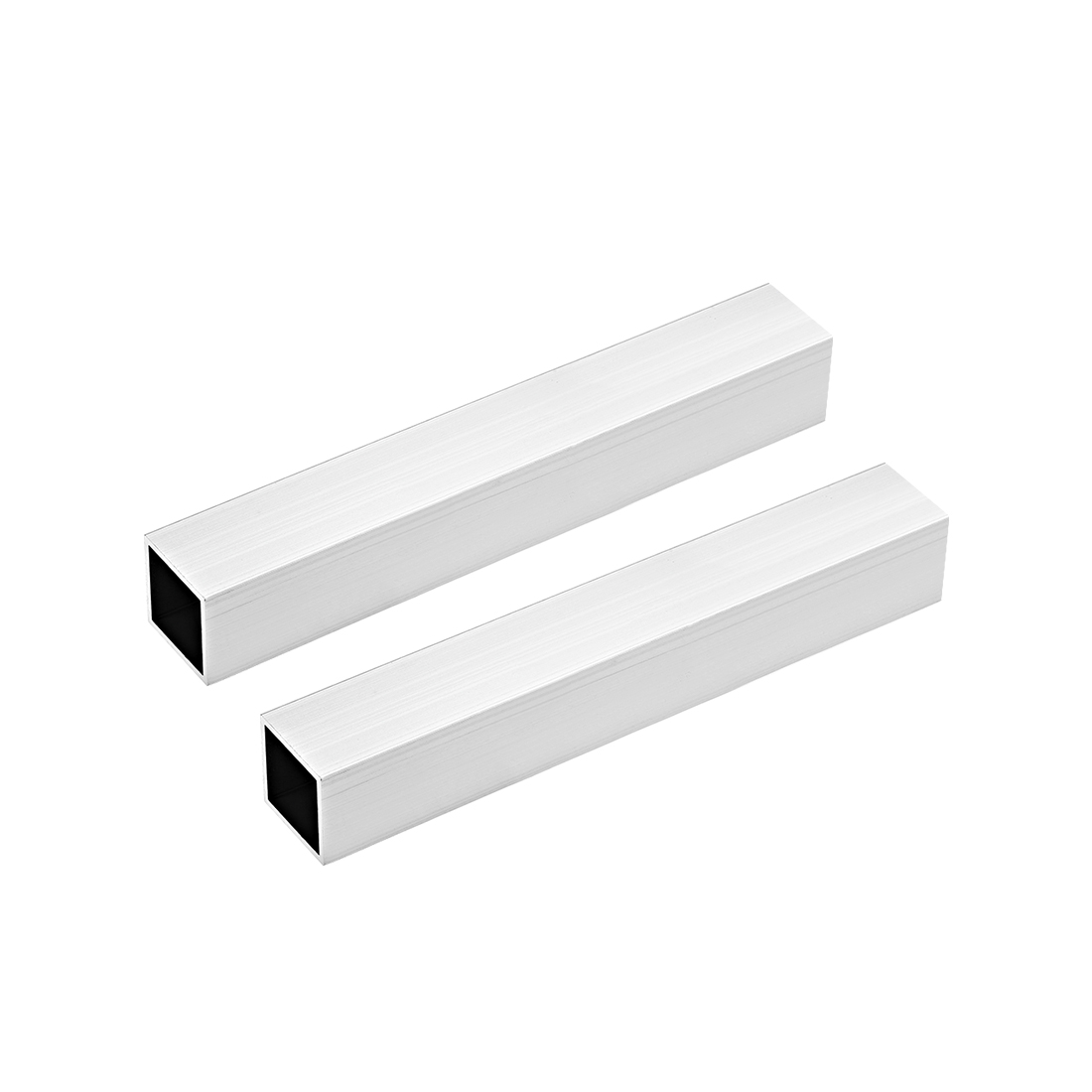 6063 Aluminum Square Tube 30mmx30mmx2mm Wall Thickness 200mm Length Tubing 2 Pcs