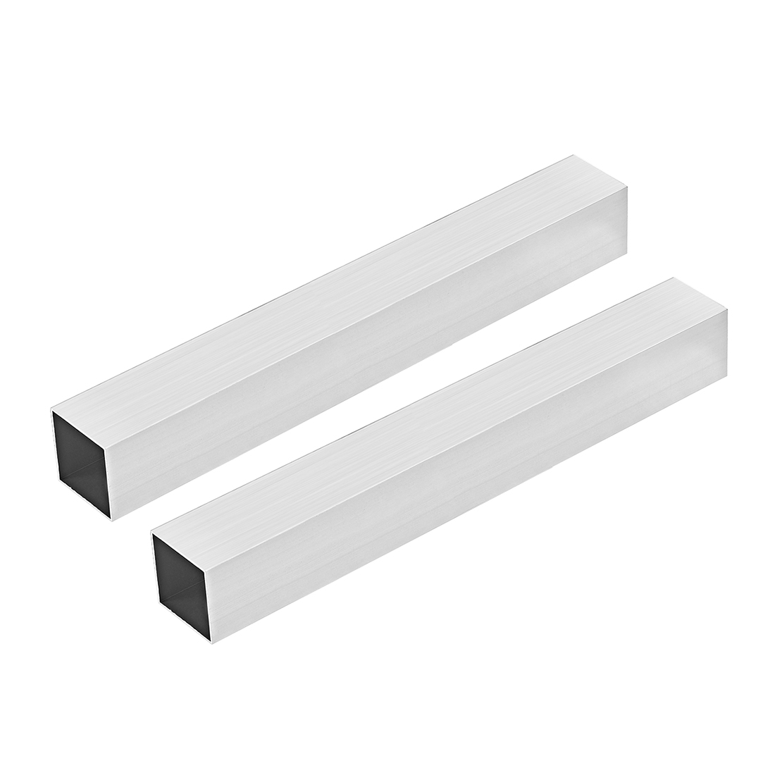6063 Aluminum Square Tube 38mmx38mmx1mm Wall Thickness 300mm Length Tubing 2 Pcs