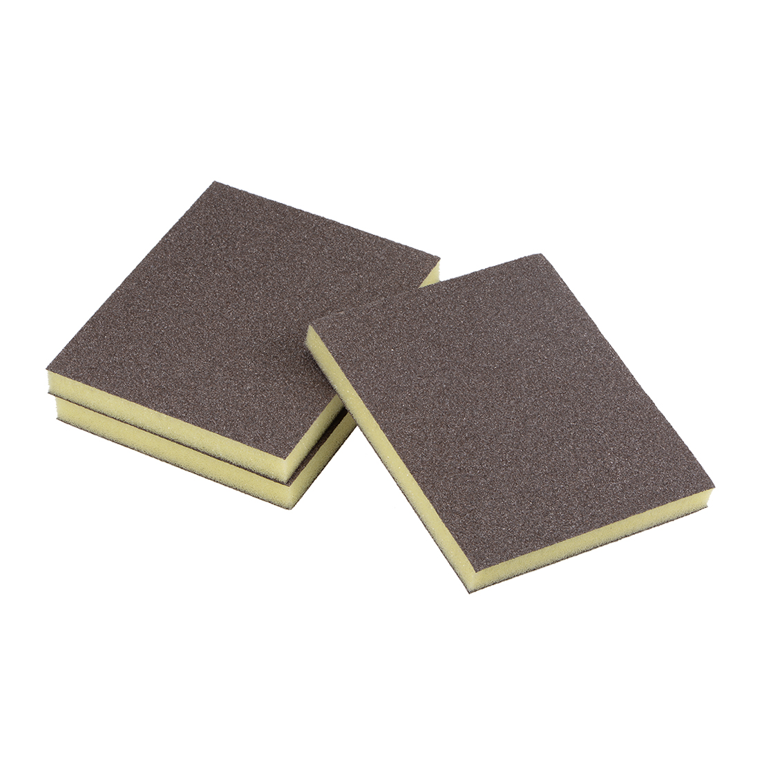 Sanding Sponge 80 Grit Sanding Block Pad Brown 3pcs