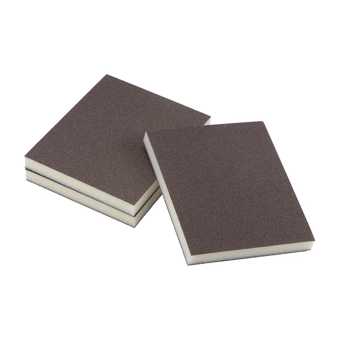 Sanding Sponge 180 Grit Sanding Block Pad Brown 3pcs