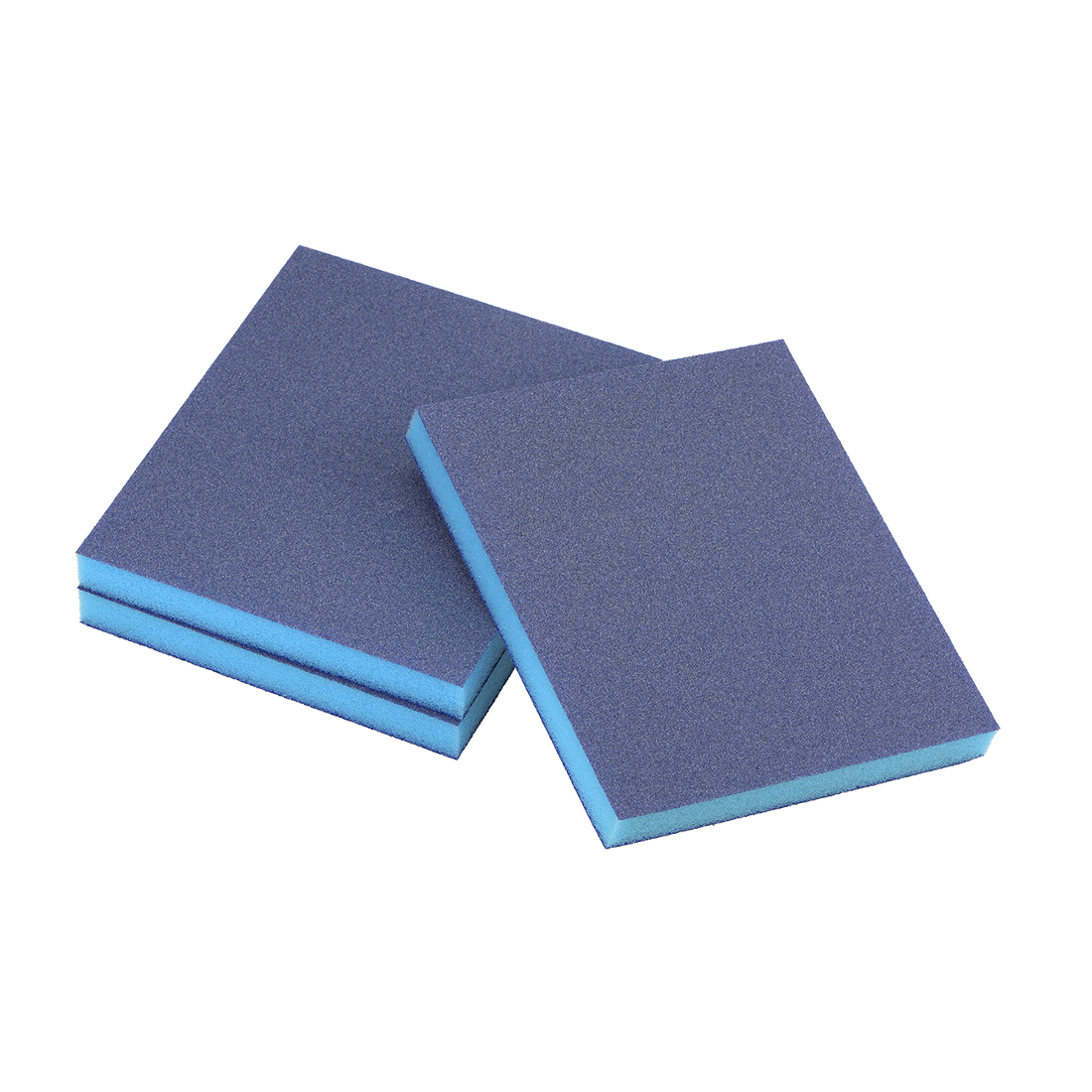 Sanding Sponge 180 Grit Sanding Block Pad Blue 3pcs