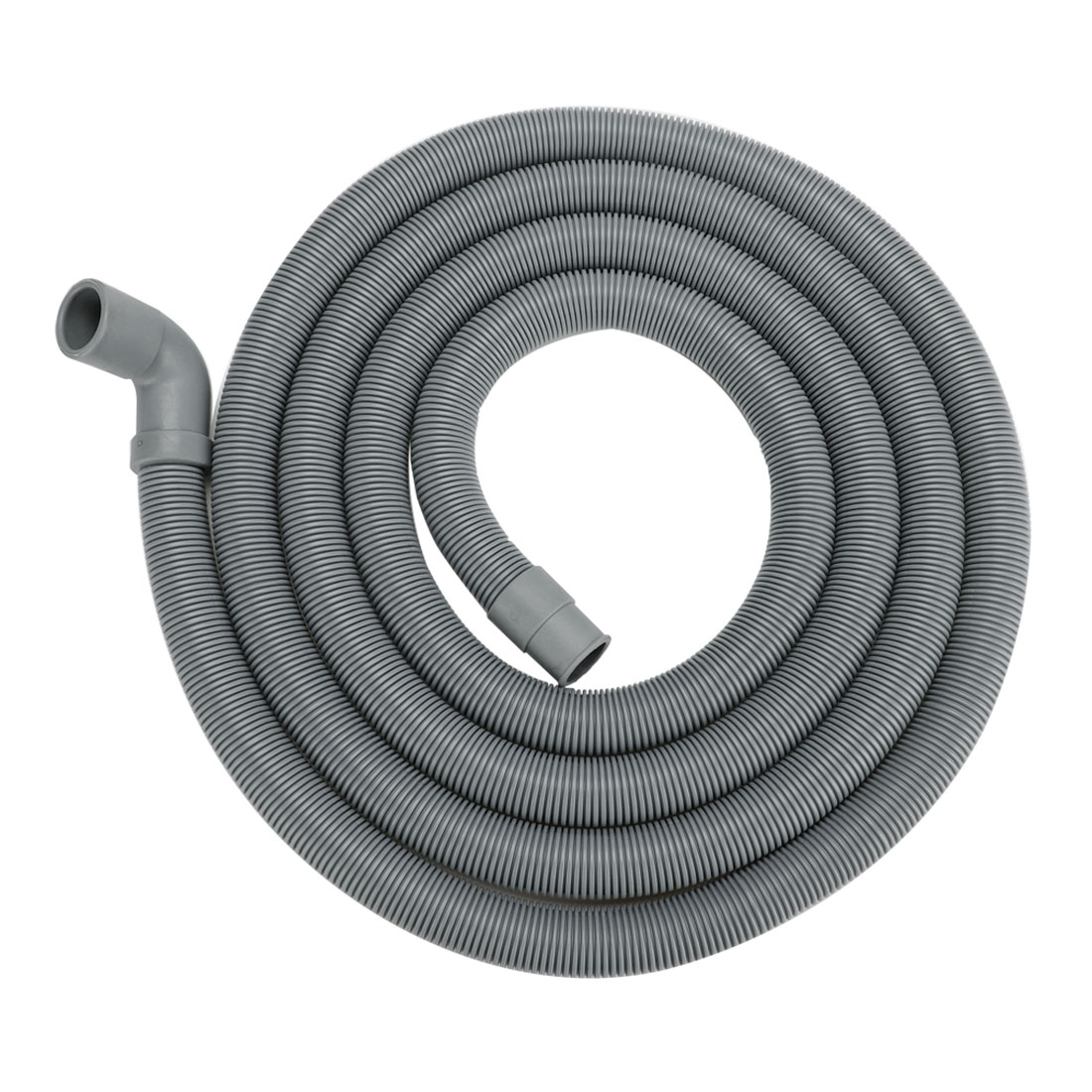13ft 90 Degree Right Angle Elbow Washing Machine Drain Hose Extension Hose