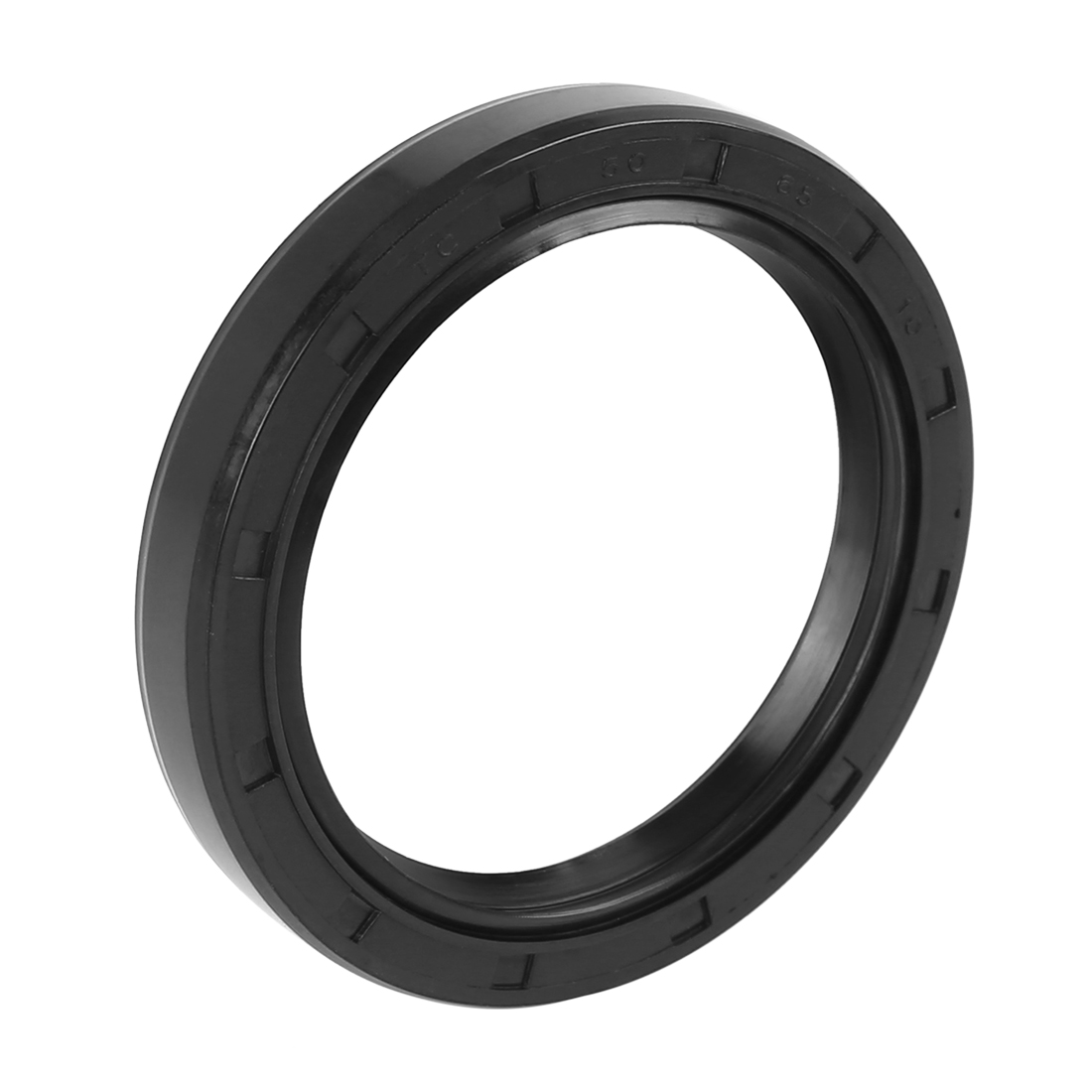 50mm x 65mm x 10mm Black Rubber Cover Double Lip TC Oil Shaft Seal for Car Auto