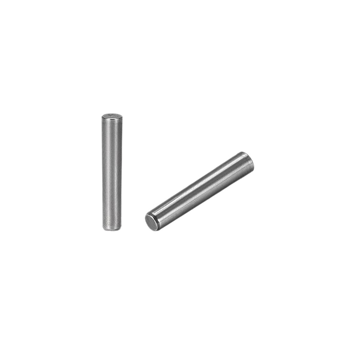 Carbon Steel GB117 25mm Length 4mmx4.5mm Small End Diameter 1:50 Taper Pin 10Pcs