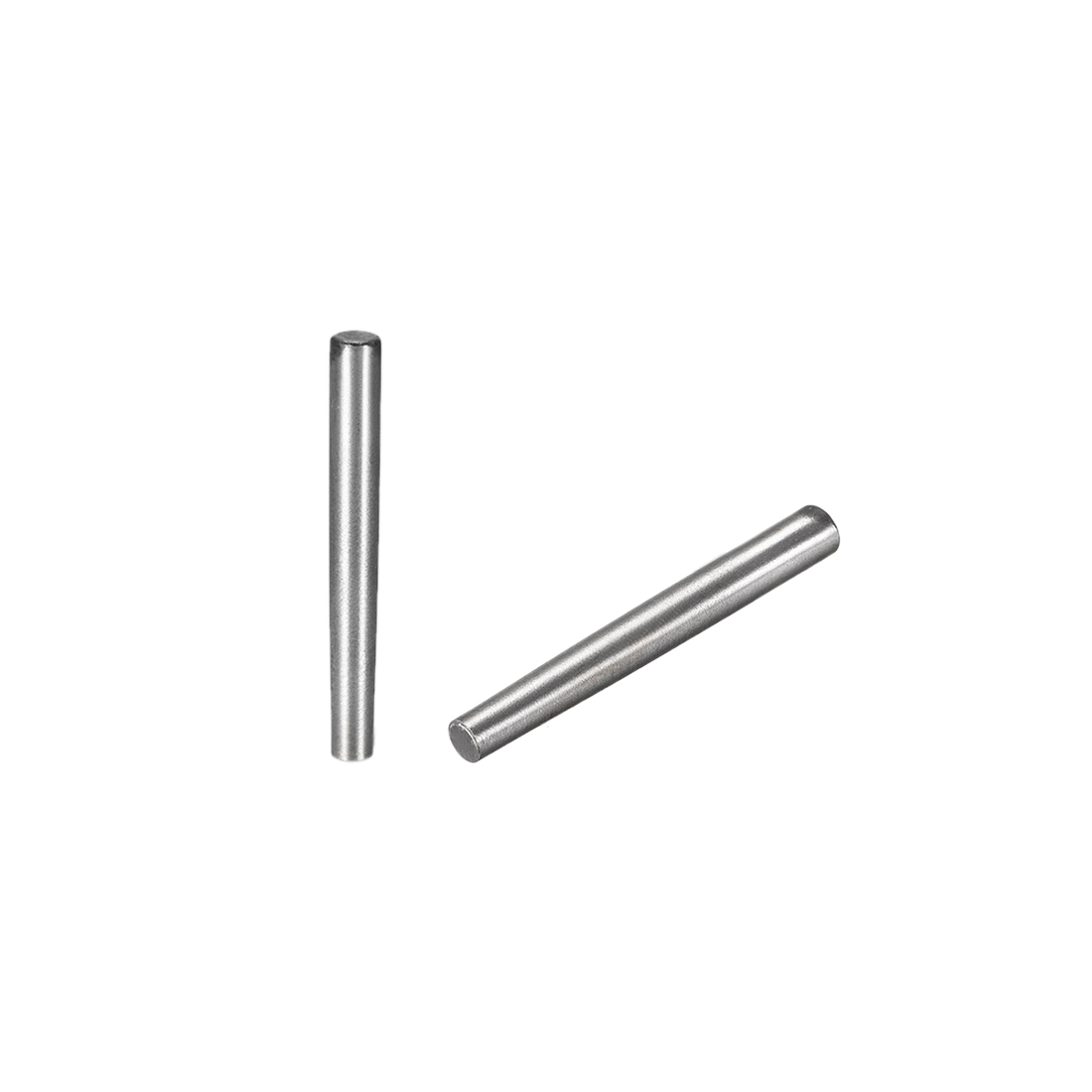 Carbon Steel GB117 40mm Length 4mmx4.8mm Small End Diameter 1:50 Taper Pin 5Pcs