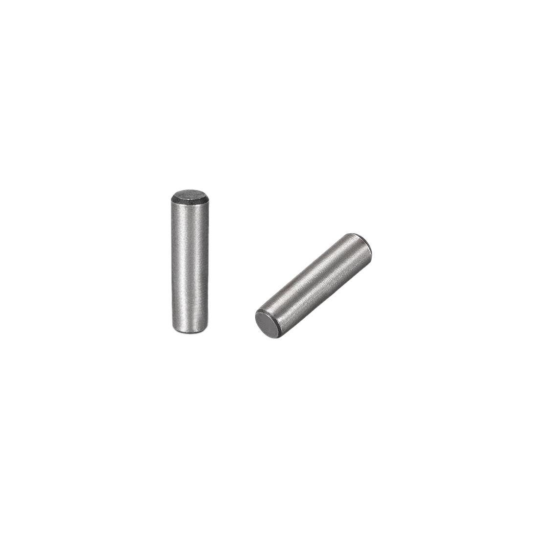 Carbon Steel GB117 20mm Length 5mmx5.4mm Small End Diameter 1:50 Taper Pin 20Pcs