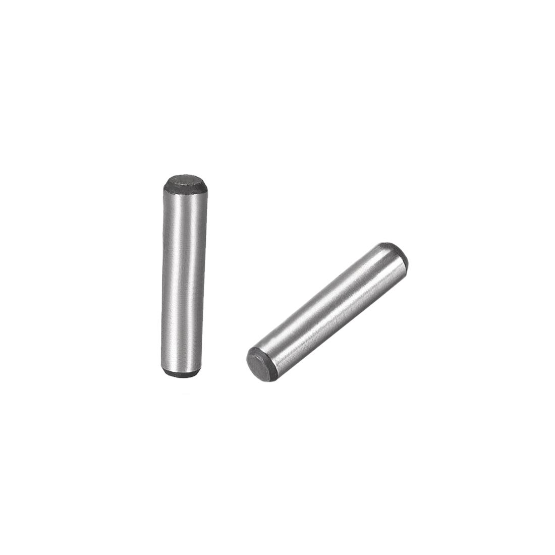 Carbon Steel GB117 25mm Length 5mmx5.5mm Small End Diameter 1:50 Taper Pin 10Pcs