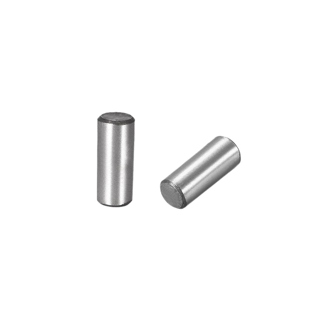 Carbon Steel GB117 20mm Length 8mmx8.4mm Small End Diameter 1:50 Taper Pin 10Pcs