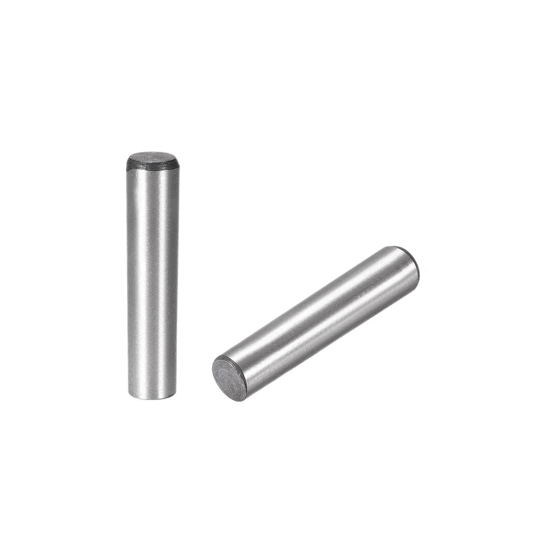 Carbon Steel GB117 45mm Length 10mmx11mm Small End Diameter 1:50 Taper Pin 5Pcs