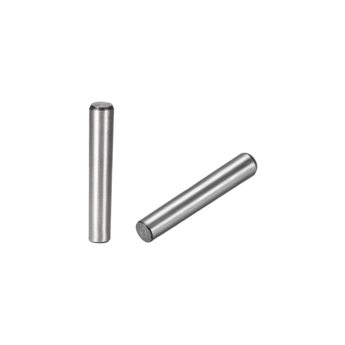 Carbon Steel GB117 50mm Length 8mmx8.9mm Small End Diameter 1:50 Taper Pin 2Pcs