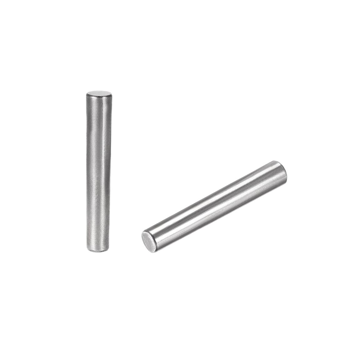 Carbon Steel GB117 70mm Length 10mm x 11.4mm Small End Diameter 1:50 2 Pcs