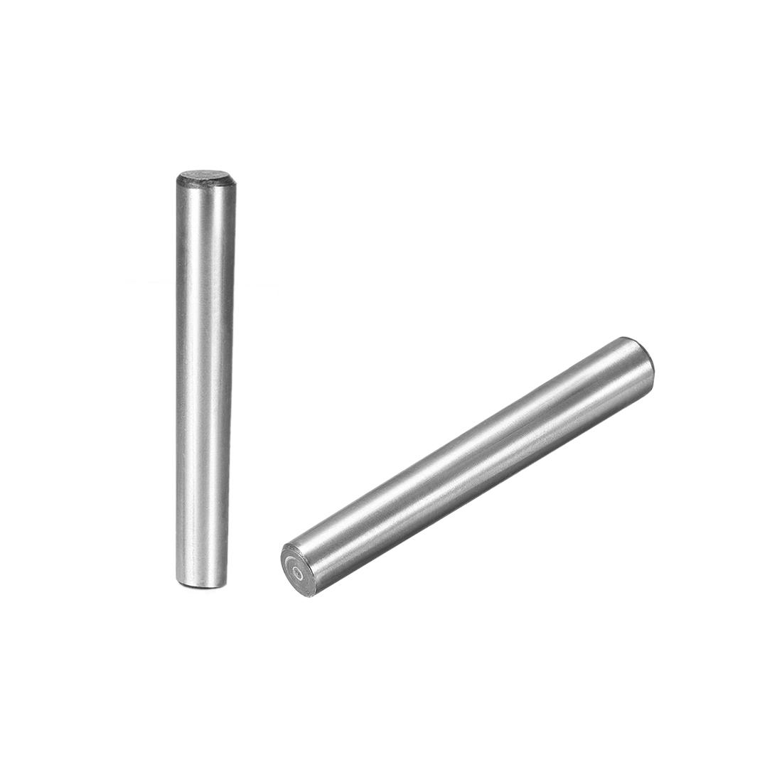 Carbon Steel GB117 80mm Length 10mm x 11.6mm Small End Diameter 1:50 Taper Pin