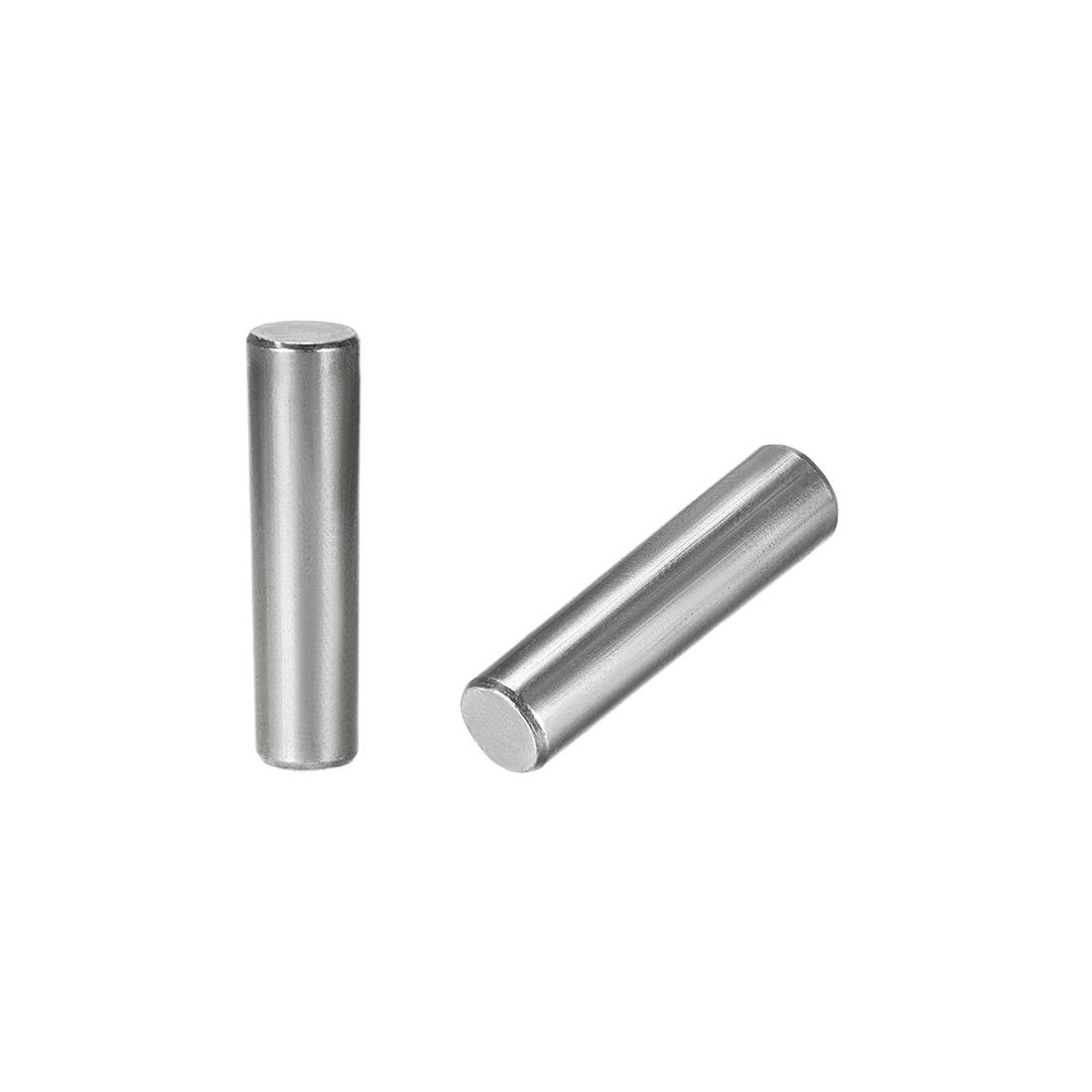 Carbon Steel GB117 50mm Length 12mm x 13mm Small End Diameter 1:50 2 Pcs