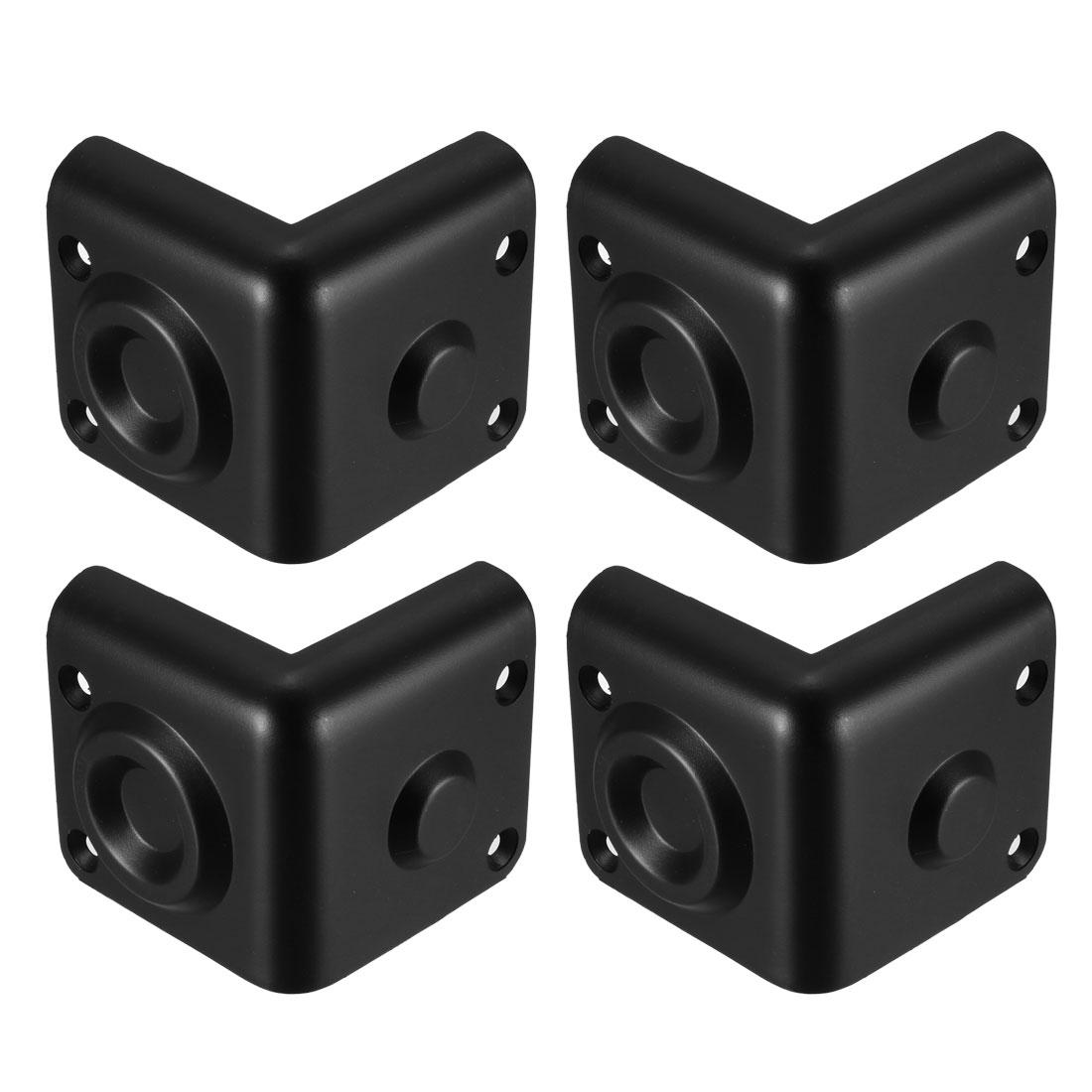 Plactic Box Corner Protectors Edge Guard Protector 70 x 70 x 67mm 4pcs
