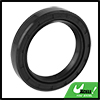 40mm x 55mm x 10mm Black Rubber Cover Double Lip TC Oil Shaft Seal for Car Auto