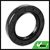 40mm x 62mm x 10mm Black Rubber Cover Double Lip TC Oil Shaft Seal for Car Auto