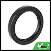 55mm x 72mm x 10mm Black Rubber Cover Double Lip TC Oil Shaft Seal for Car Auto