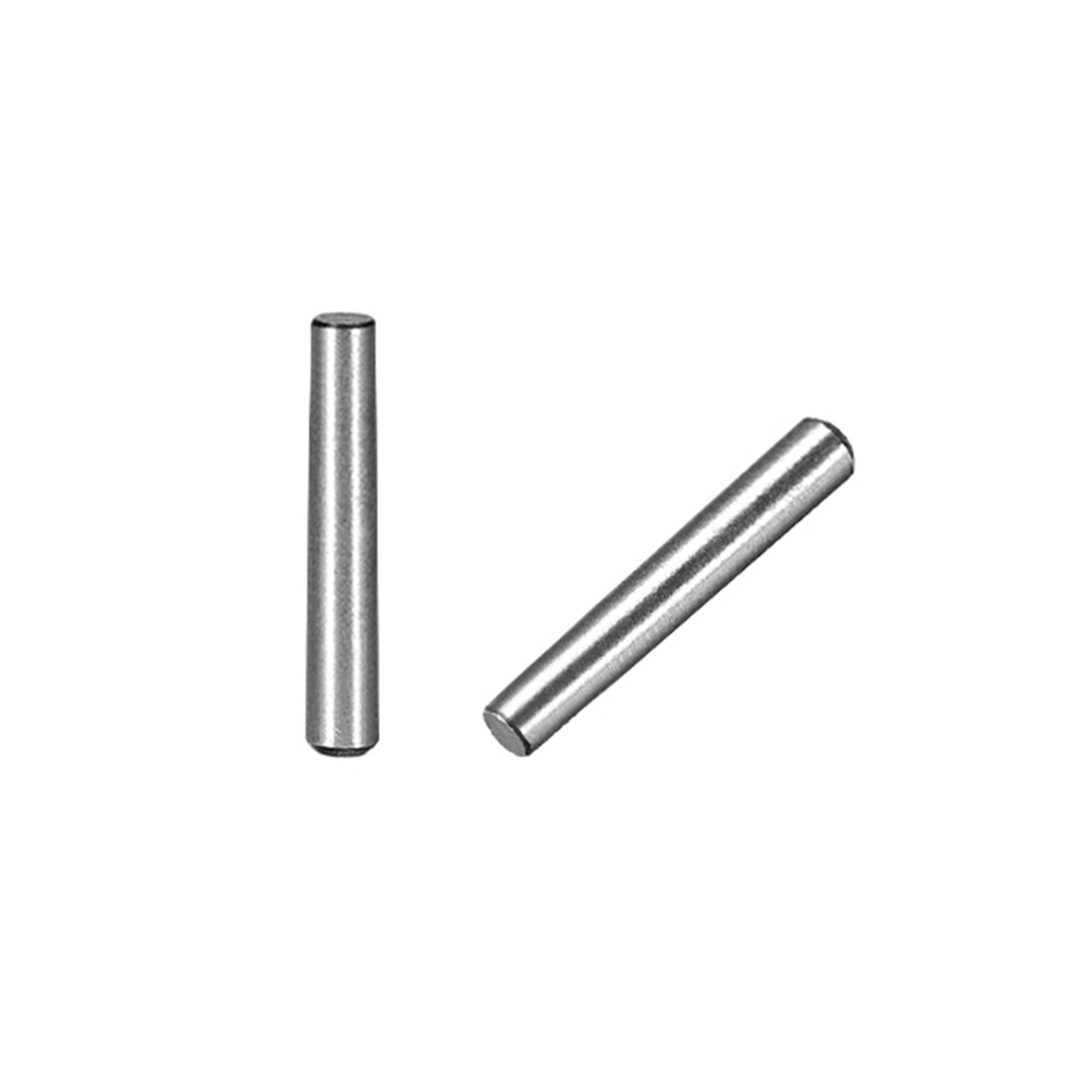 45# Carbon Steel GB117 12mm Length 3mm Small End Diameter 1:50 Taper Pin 50Pcs